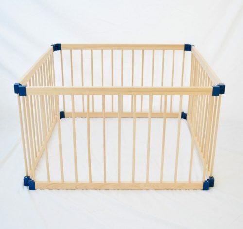 Kiddy Cots 4 Panel Wooden Playpen Link 100 4