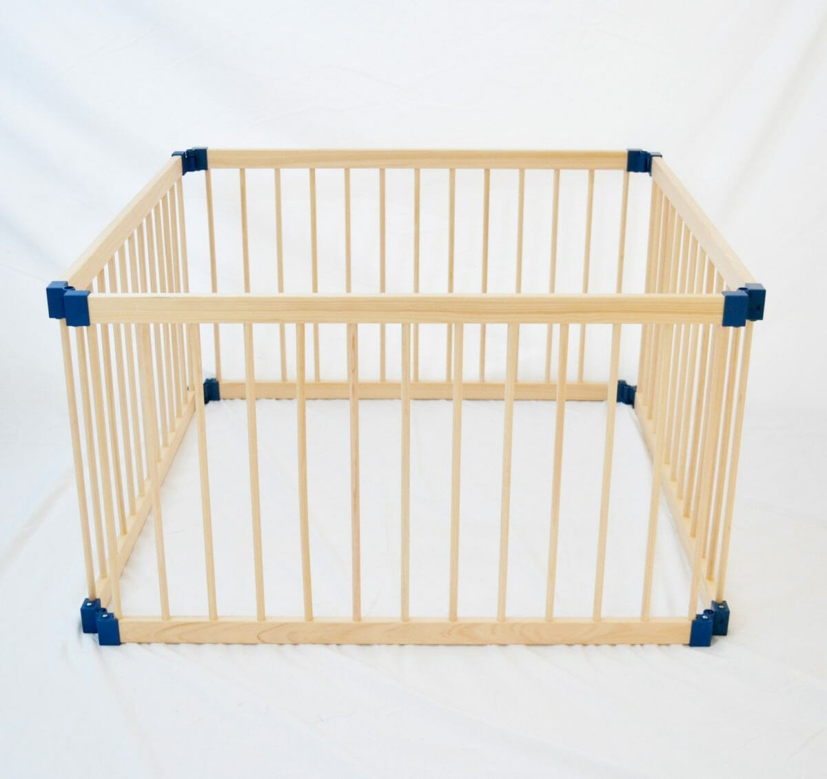 Kiddy Cots 4 Panel Wooden Playpen Link 100 4
