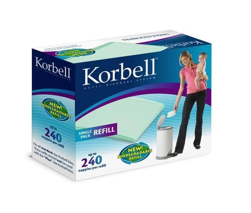 korbell diaper nanny refills