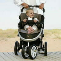 Casual Play S4 Pram / Jogger - BLACK
