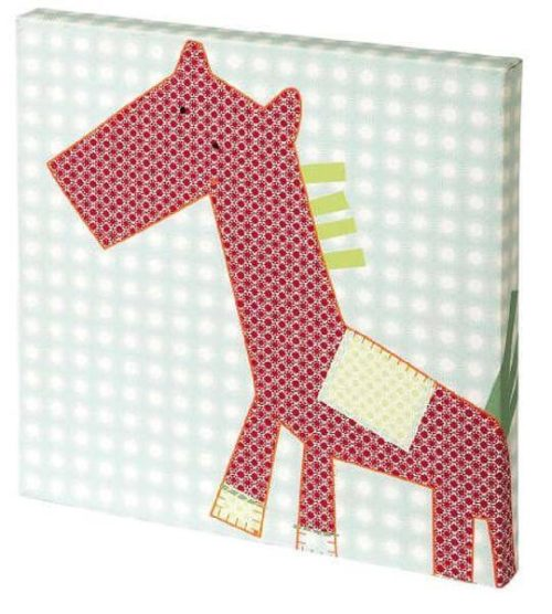 Mamas & Papas Gingerbread Canvas Picture Red Pony