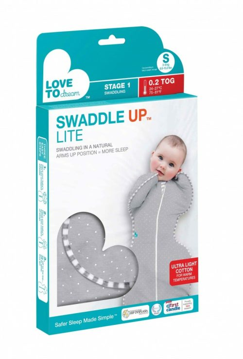 Love To Swaddle Up Lite Grey Package