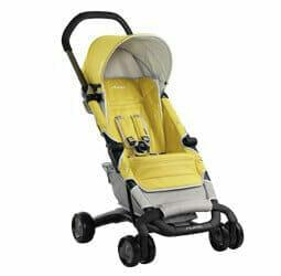 Nuna Pepp Stroller Yellow