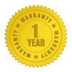 Amby 1 year warranty