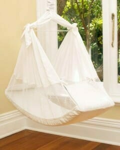 Amby Air Baby Hammock Sling - White
