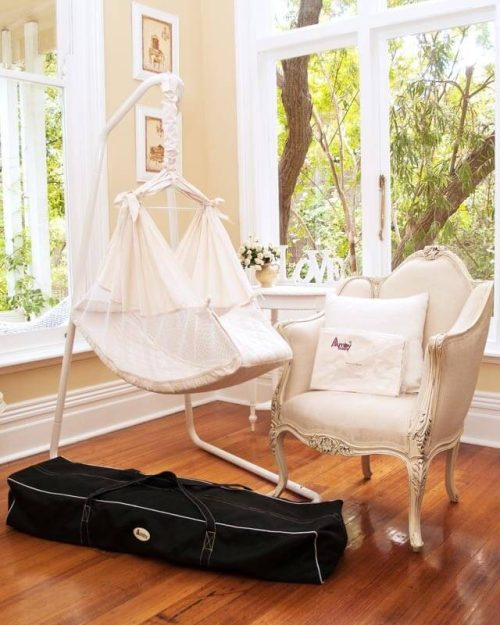 Amby Air Baby Hammock Value Package - Raw
