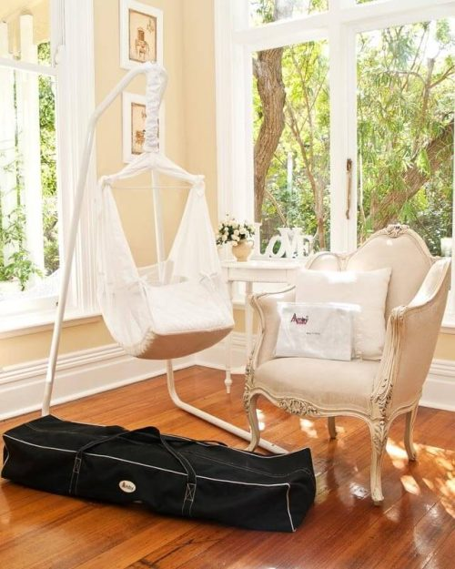 Amby Air Baby Hammock Value Package - White