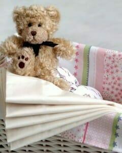 Amby Sheets - Cream