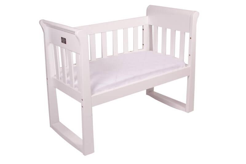 Sandton Sleigh Cradle White