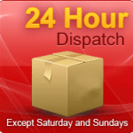 Most Items Dispatched in 24 hours