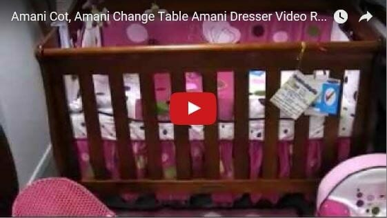 Babyhood Amani Sleigh Cot Video Review
