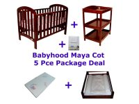 Babyhood Maya Cot 5 Pce Package Deal