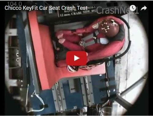 Chicco Keyfit Plus Crash Test Video