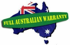 Full Australian Warranty