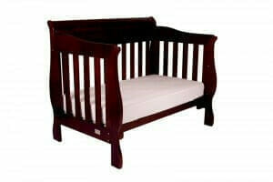Babyhood Amani Cot English Oak