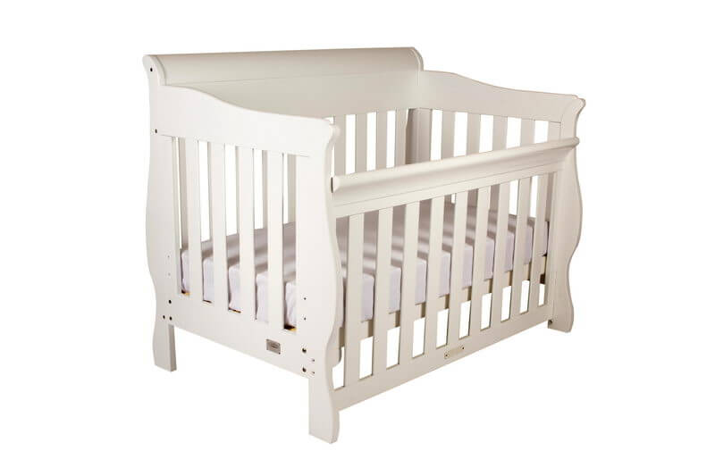 Babyhood Amani Cot White