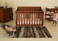 Babyhood Amani Cot and Change Table and Dresser