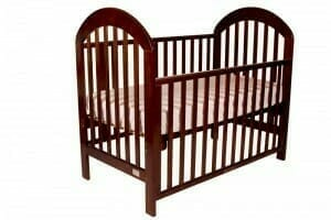 Babyhood Luna Cot Walnut