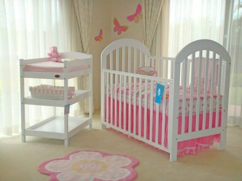 Babyhood Luna 4 Piece Cot Package Deal