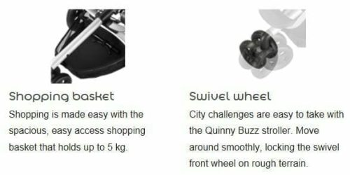 Quinny Buzz Features