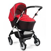 Silver Cross Wayfarer with Carry Cot Chilli