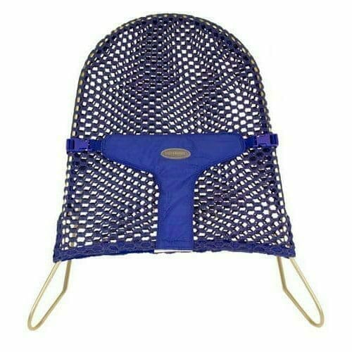 Babyhood Mesh Bouncer Blue