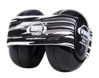 Em's 4 Bubs Black baby Earmuffs - Black Oyster Pearl