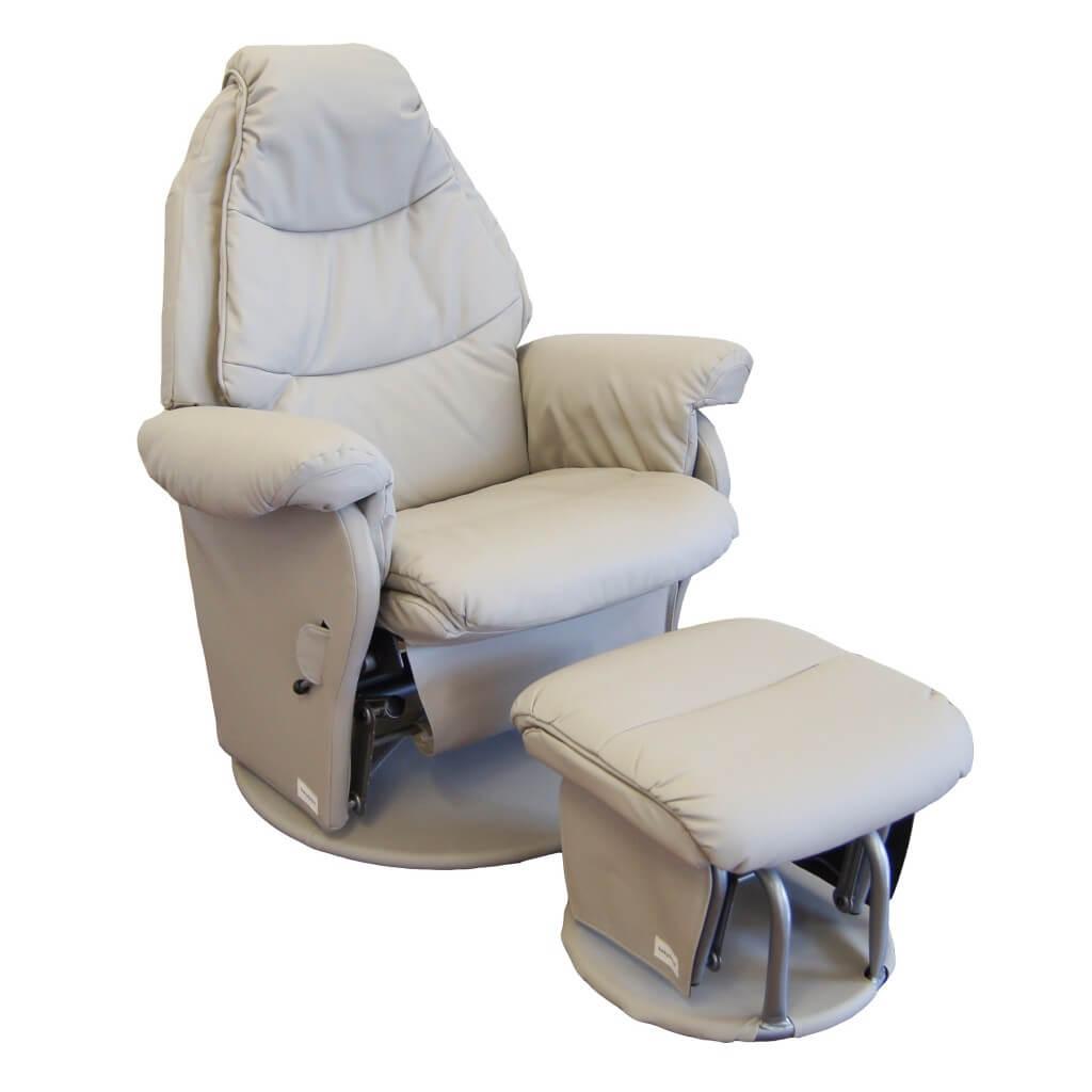 Babyhood Vogue Glider Chair Ice Grey