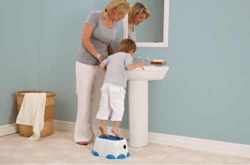 Bumbo Step Stool Sink