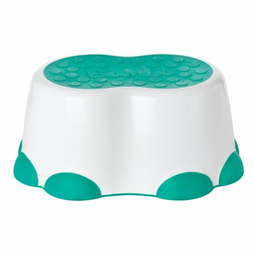 Bumbo Step Stool White Aqua