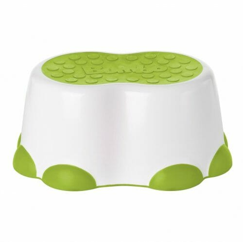 Bumbo Step Stool White lime