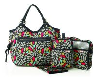 Isoki Reversible Hobo Nappy Bag Jewel