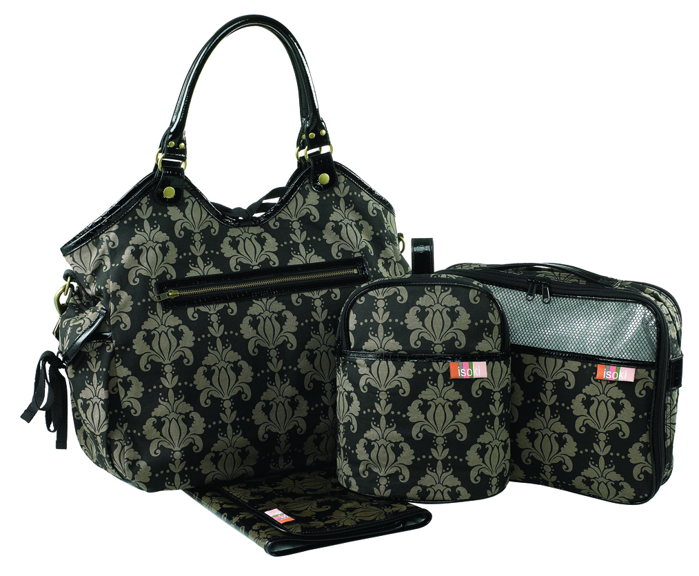 Isoki The Avenue Reversible Hobo Nappy Bag
