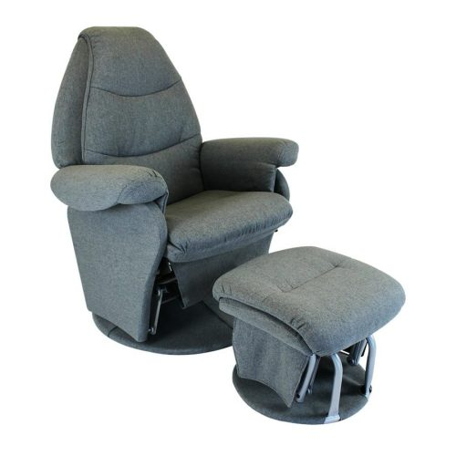 Babyhood Vogue Glider Chair Charcoal