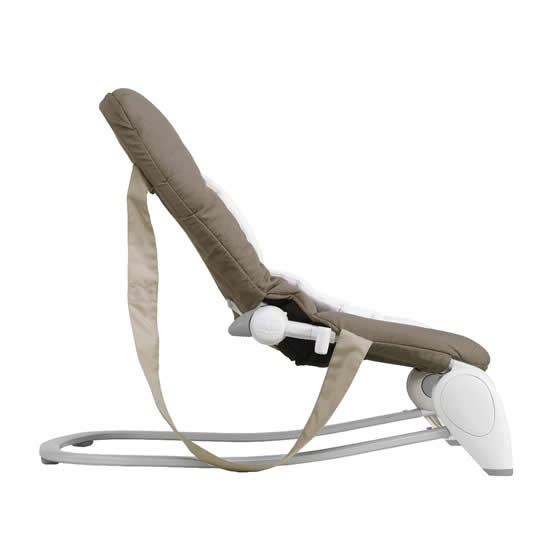 chicco hoopla dark beige side view