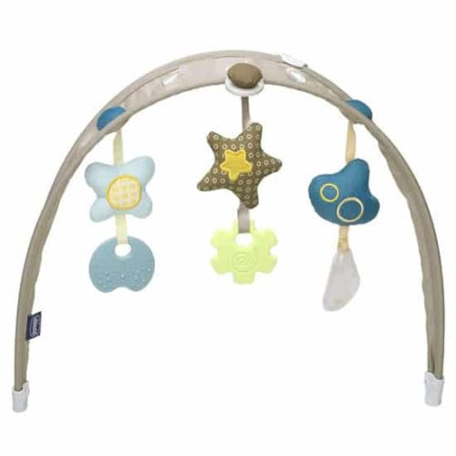 chicco hoopla dark beige toy bar
