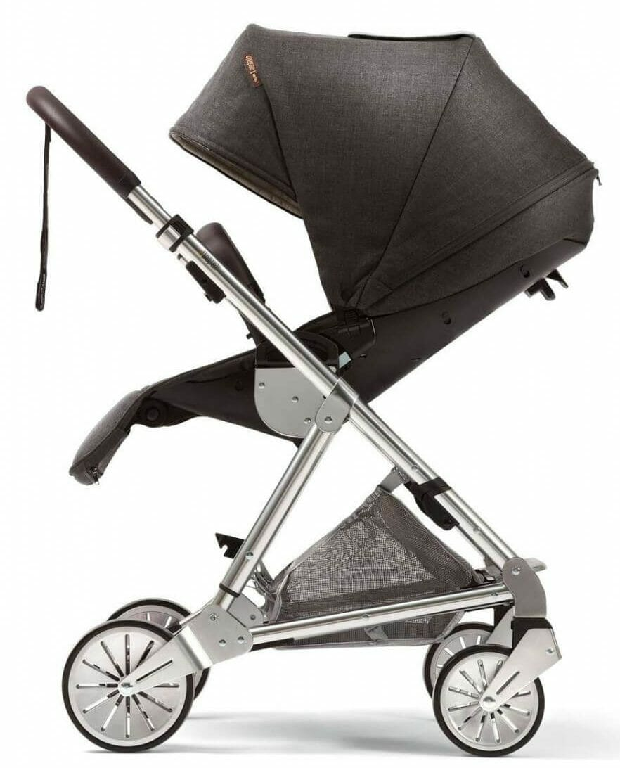 Mamas and Papas Urbo 2 Travel SystemChestnut Foot Rest and Canopy