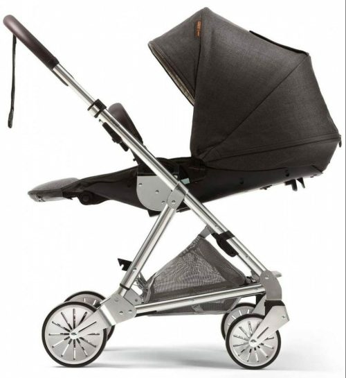 Mamas and Papas Urbo 2 Travel System Chestnut Seat Laid Back Flat