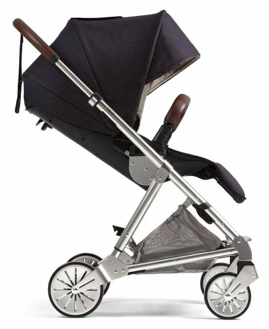 Mamas and Papas Urbo 2 Travel System Navy Side View