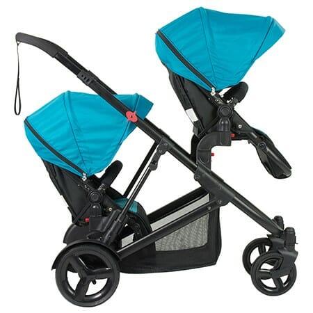Safety 1st Envy Stroller Blue Horizon 2 Seats Facing Forward