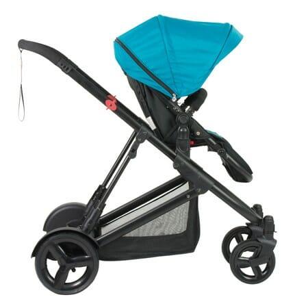 Safety 1st Envy Stroller Blue Horizon Side Forward Facing Seat
