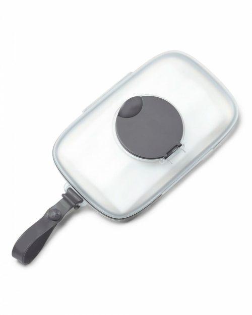 Skip Hop Grab & Go Perfect Seal Wipes Case Grey