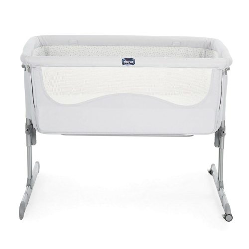 Chicco Next2me Light Grey Front