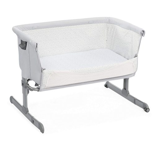Chicco Next2me Light Grey Side Down