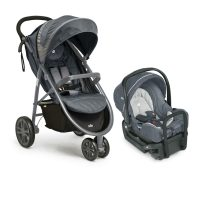 Joie Litetrax Travel System Charcoal