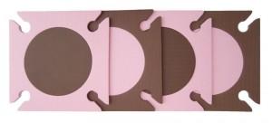 Skip Hop Pink and Brown Playspot Mat