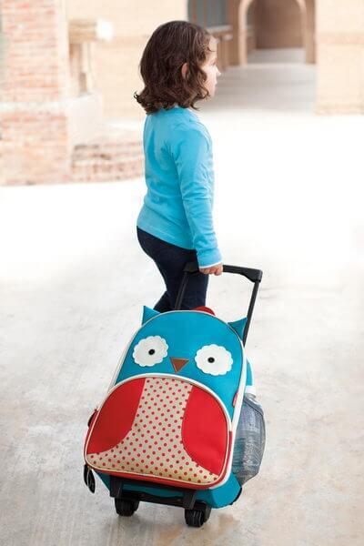 Skip Hop Owl Zoo Luggage