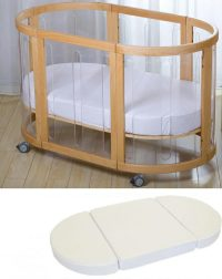 Kaylula Sova Clear Cot And Mattress