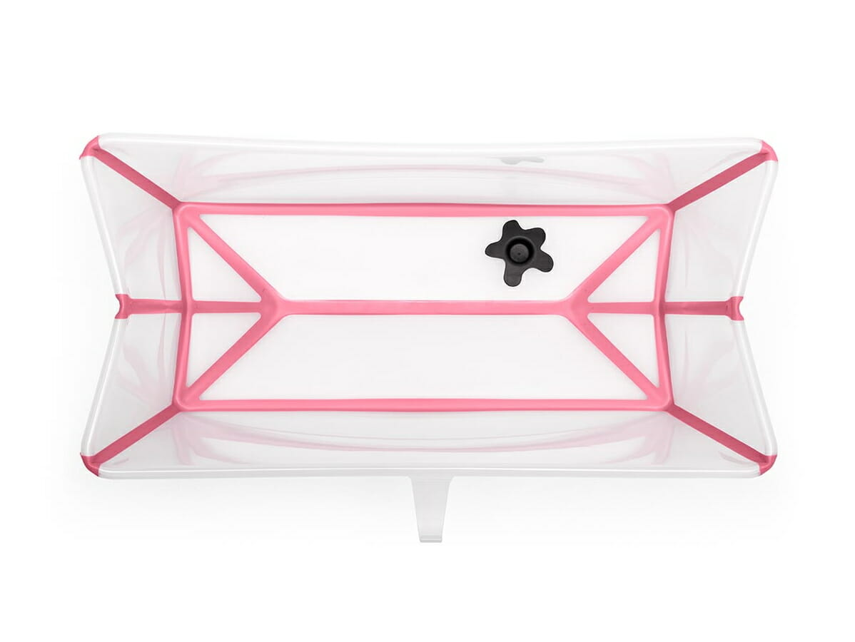 Stokke Flexi Bath Transparent Pink Internal View