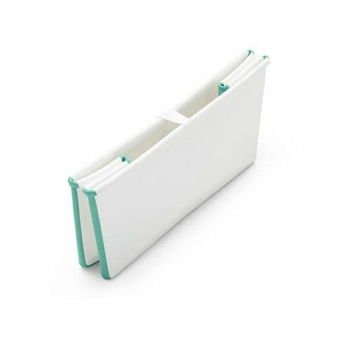 Stokke Flexi Bath White Aqua Folded